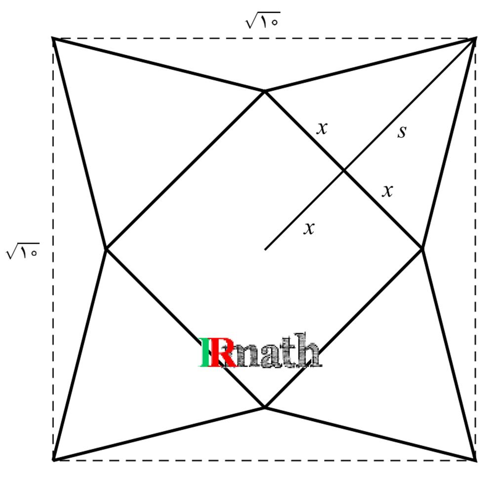 تصویر سوال شماره پنج میانترم ریاضی عمومی یک با پاسخ تشریحی، صنعتی شریف 13950918 در سایت ریاضیات ایران